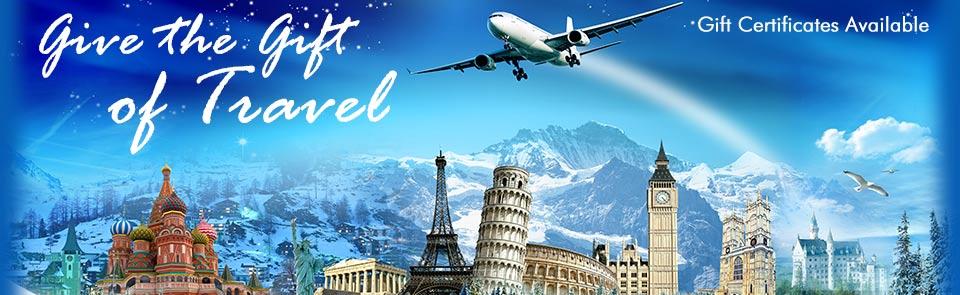 Gift Certificates - Skads Travel
