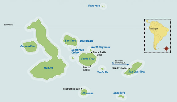 Map Where Is The Galapagos Islands Relative To The Us Globalinterco - Map where is the galapagos islands relative to the us